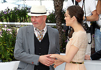 .../Director Jacques Audiardand Marion Cotillard pose at the 'De Rouille et D'os' Photocall during the 65th Annual Cannes Film Festival at Palais des Festivals on May 17, 2012 in Cannes, France  .. Credit: Palme2012/ News Pictures/MediaPunch Inc. ***FOR USA ONLY***