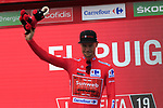 Race leader Nicolas Roche (IRL) Team Sunweb retains the Red Jersey at the end of Stage 4 of La Vuelta 2019 running 175.5km from Cullera to El Puig, Spain. 27th August 2019.<br /> Picture: Eoin Clarke | Cyclefile<br /> <br /> All photos usage must carry mandatory copyright credit (© Cyclefile | Eoin Clarke)