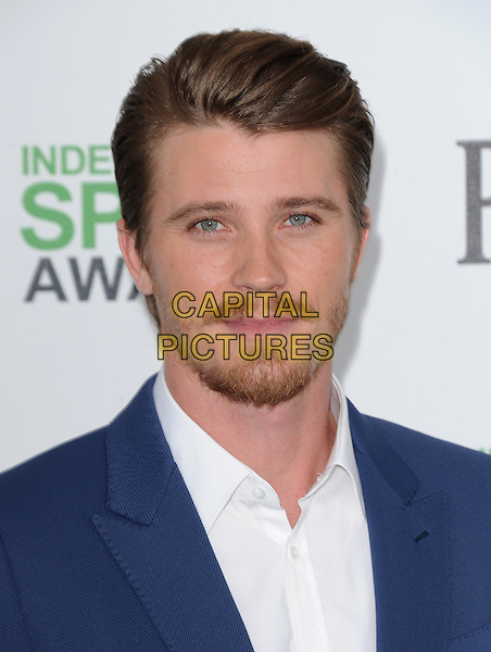SANTA MONICA, CA, MARCH 01: Garrett Hedlund at The 2014 Film Independent Spirit Awards held at Santa Monica Beach in Santa Monica, California, USA on March 1st, 2014.                                                                              <br /> CAP/DVS<br /> &copy;Debbie VanStory/Capital Pictures