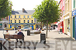 The Square, Listowel basking in sunshine on Tuesday.