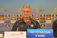 23.10.2013: Eintracht Frankfurt Europa League PK