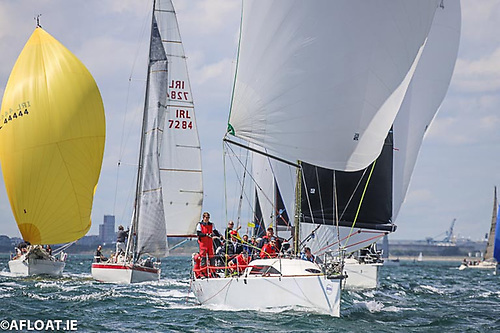 Dublin Bay Sailing Club racing. The DBSC experience of 136 years of organising races in the bay has given it an exceptional authority in over-seeing the resumption of sailing