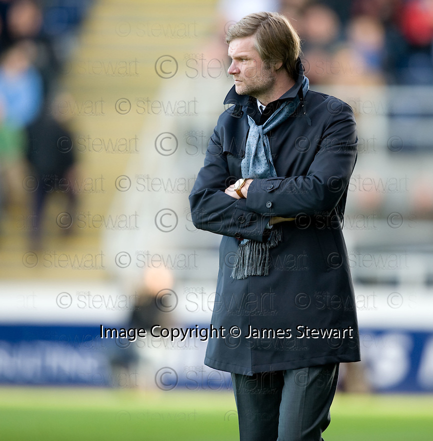 30/10/2010   Copyright  Pic : James Stewart.sct_jsp010_falkirk_v_dundee  .:: FALKIRK MANAGER STEVEN PRESSLEY :: .James Stewart Photography 19 Carronlea Drive, Falkirk. FK2 8DN      Vat Reg No. 607 6932 25.Telephone      : +44 (0)1324 570291 .Mobile              : +44 (0)7721 416997.E-mail  :  jim@jspa.co.uk.If you require further information then contact Jim Stewart on any of the numbers above.........