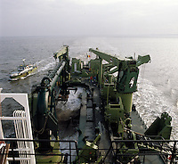 Split Barge Krankeloon van DEME.