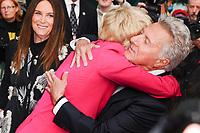 Emma Thompson &amp; Dustin Hoffman at the London Film Festival 2017 screening of &quot;The Meyerowitz Stories&quot; at the Embankment Gardens Cinema, London, UK. <br /> 07 October  2017<br /> Picture: Steve Vas/Featureflash/SilverHub 0208 004 5359 sales@silverhubmedia.com