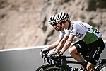 Giacomo Nizzolo (ITA) and Enrico Gasparotto (ITA) Team Dimension Data in action during Stage 4 of 10th Tour of Oman 2019, running 131km from Yiti (Al Sifah) to Oman Convention and Exhibition Centre, Oman. 19th February 2019.<br /> Picture: ASO/P. Ballet | Cyclefile<br /> All photos usage must carry mandatory copyright credit (&copy; Cyclefile | ASO/P. Ballet)