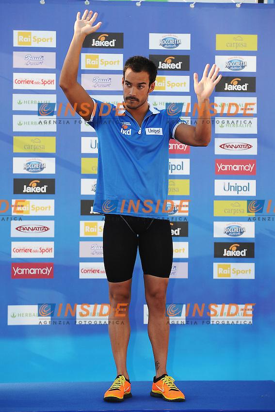 Luca Marin Italy 400m medley men.Roma 15/6/2012 Foro Italico.Nuoto Swimming 49mo trofeo settecolli.Foto Andrea Staccioli Insidefoto