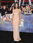 Julia Jones attends The world premiere of Summit Entertainment's THE TWILIGHT SAGA: BREAKING DAWN -PART 2 held at  Nokia Theater at L.A. Live in Los Angeles, California on November 12,2012                                                                               © 2012 DVS / Hollywood Press Agency