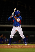 AZL Cubs 2 Carlos Morfa (27) at bat during an Arizona League game against the AZL Dbacks on June 25, 2019 at Sloan Park in Mesa, Arizona. AZL Cubs 2 defeated the AZL Dbacks 4-0. (Zachary Lucy/Four Seam Images)