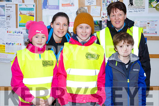 Attending the Garvey Supervalu store in Castleisland on their Operation Transformation walk on Saturday morning last,Rachel O'Donoghue, Nora Marie O'Mahony, Laura O'Donoghue, Mary O'Mahony and Sean O'Donoghue all from Castleisland.