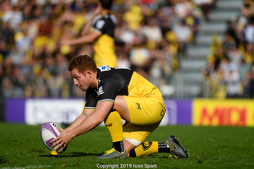 Ihaia West of La Rochelle during the Challenge Cup semi final match between Stade Rochelais and Sale Sharks on April 20, 2019 in La Rochelle, France. (Photo by Anthony Dibon/Icon Sport)