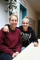 Sam Lapszynski (l.) und Ashley Engeln (r.) - 27.10.2016: SG Weiterstadt Spielerinnen im Interview