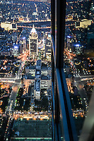Taipei from the tallest building by Art Harman. The glow of the city was stunning on a clear evening atop Taipei 101.