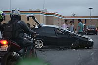 S&Atilde;O PAULO, SP, 2012/06/02, ACIDENTE LIGA&Ccedil;&Atilde;O LESTE OESTE.<br /> Manh&atilde; de v&aacute;rios acidentes na capital paulista, um veiculo capotou na Liga&ccedil;&atilde;o Leste Oeste sentido Z.Leste.<br /> Luiz Guarnieri/ Brazil Photo Press