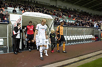 Pictured: Garry Monk of Swansea City<br /> Re: Coca Cola Championship, Swansea City Football Club v  Wolverhampton Wanderers at the Liberty Stadium, Swansea, south Wales 2008.