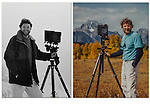 John Kieffer and the view camera, old school and 4x5 inch film.