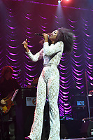 LONDON, ENGLAND - OCTOBER 08: Beverley Knight performing at The Palladium on October 08, 2019 in London, England.<br /> CAP/MAR<br /> ©MAR/Capital Pictures