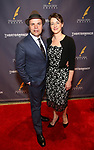 J.T. Rogers and wife attends the 2017 Drama Desk Awards at Town Hall on June 4, 2017 in New York City.