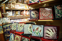 Ceramics at the Grand Bazaar, Istanbul, Turkey