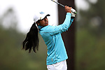 CHAPEL HILL, NC - OCTOBER 13: North Carolina's Roshnee Sharma on the tenth tee. The first round of the Ruth's Chris Tar Heel Invitational Women's Golf Tournament was held on October 13, 2017, at the UNC Finley Golf Course in Chapel Hill, NC.