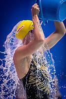 Sarah Sjoestroem of Swden in act at women's 50m butterfly fianal during 18th Fina World Championships Gwangju 2019 at Nambu University Municipal Aquatics Centre, Gwangju, on 27  July 2019, Korea.  Photo by : Ike Li / Prezz Images