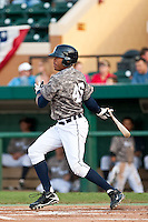 Daniel Fields (45) of the Lakeland Flying Tigers during a game vs. the Tampa Yankees May 15 2010 at Joker Marchant Stadium in Lakeland, Florida. Tampa won the game against Lakeland by the score of 2-1.  Photo By Scott Jontes/Four Seam Images