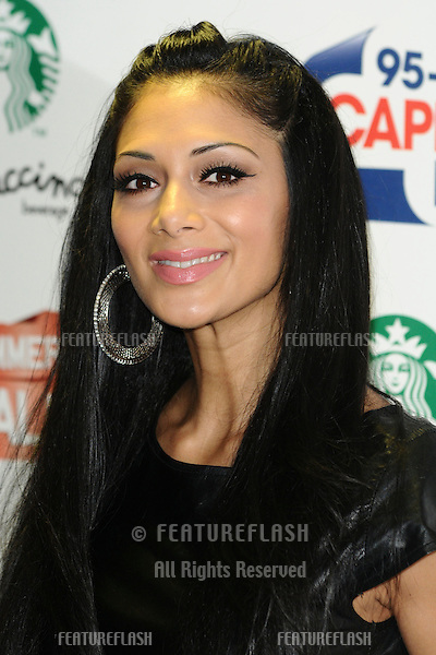 Nicole Scherzinger arriving for the Capital Summertime Ball, Wembley Stadium, London. 12/06/2011  Picture by: Steve Vas / Featureflash