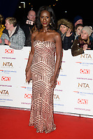 Moyo Akande<br /> arriving for the National TV Awards 2019 at the O2 Arena, London<br /> <br /> ©Ash Knotek  D3473  22/01/2019