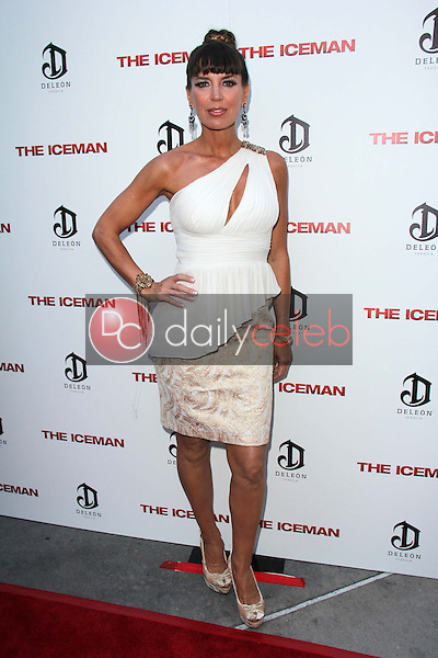"Sandra Vidal<br /> at ""The Iceman"" Red Carpet, Arclight Theater, Hollywood, CA 04-22-13<br /> David Edwards/DailyCeleb.Com 818-249-4998"