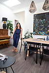 Home & Life Mag, My Place: Michelle Fogden - Ettie Ink Studio Owner/Director at her home  5 Arundel Avenue, Milswood SA Photo : Nick Clayton.