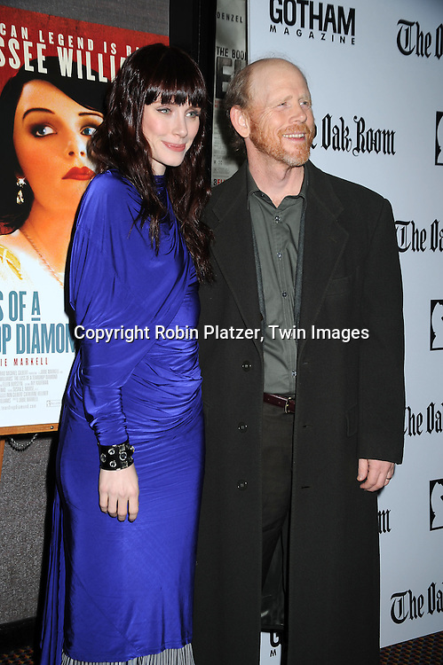 actress Bryce Dallas Howard and her father Ron Howard