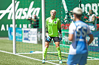 Portland, OR - Saturday August 05, 2017: Jane Campbell during a regular season National Women's Soccer League (NWSL) match between the Portland Thorns FC and the Houston Dash at Providence Park.