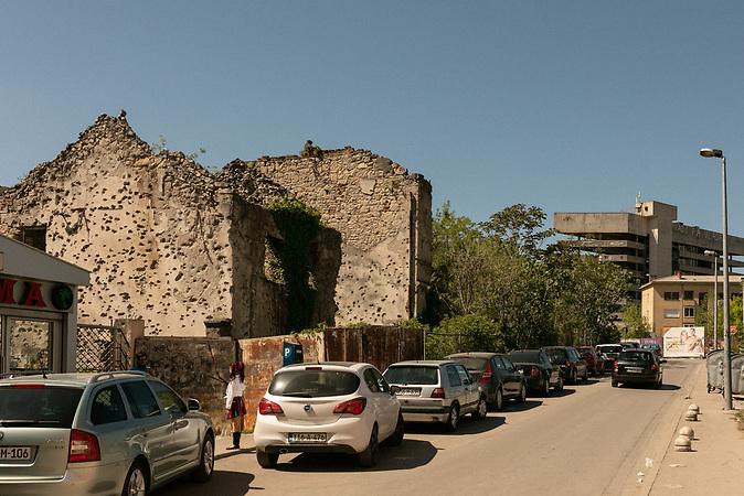 Street in Mostar.