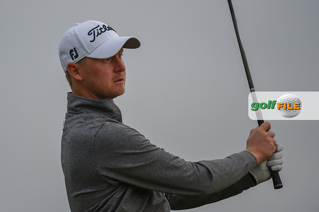 Justin Harding (RSA) watches his tee shot on 11 during day 1 of the Valero Texas Open, at the TPC San Antonio Oaks Course, San Antonio, Texas, USA. 4/4/2019.<br /> Picture: Golffile | Ken Murray<br /> <br /> <br /> All photo usage must carry mandatory copyright credit (© Golffile | Ken Murray)