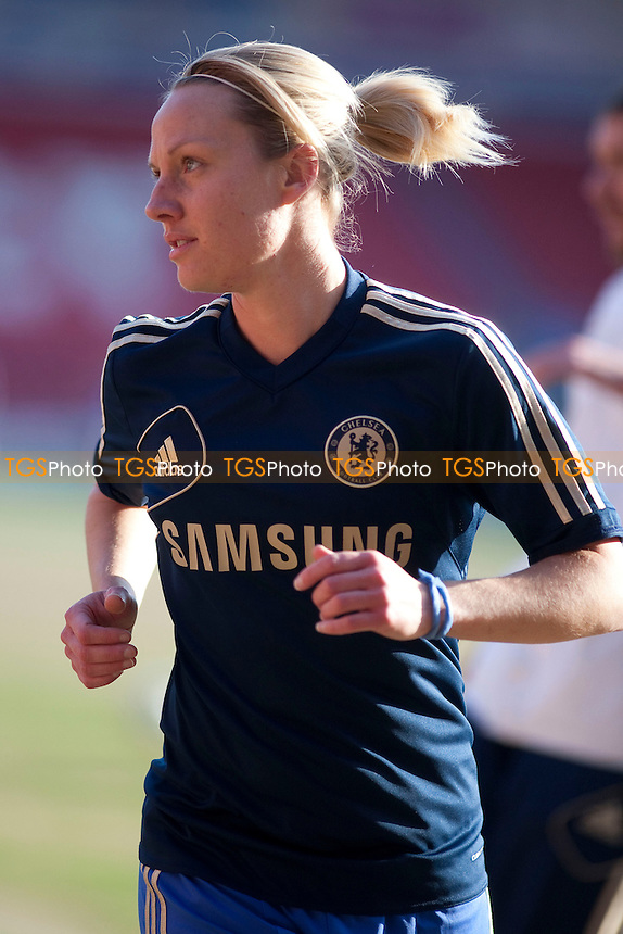 Katie Holtham (Chelsea).. - Doncaster Rovers Belles vs Chelsea Ladies - FA Womens Super League Football at the Keepmoat Stadium - 20/04/13 - MANDATORY CREDIT: Mark Hodsman/TGSPHOTO - Self billing applies where appropriate - 0845 094 6026 - contact@tgsphoto.co.uk - NO UNPAID USE.