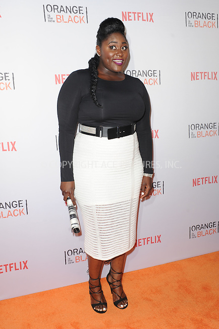 WWW.ACEPIXS.COM<br /> June 11, 2015 New York City<br /> <br /> Danielle Brooks attending the 'Orangecon' Fan Event at Skylight Clarkson SQ on June 11, 2015 in New York City.<br /> <br /> Credit : Kristin Callahan/ACE Pictures<br /> Tel: (646) 769 0430<br /> e-mail: info@acepixs.com<br /> web: http://www.acepixs.com