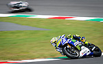 The rider Valentino Rossi of MotoGP during the qualifying practice of the Grand Prix Mugello. Italy. 31/05/2014. Samuel Roman/Photocall3000