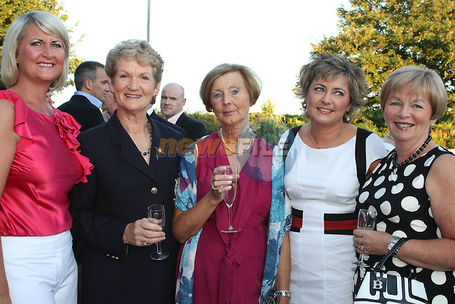 Siobhan Ronan, Anne Walsh, Sheila Ronan, Tracey Crimmons and Olive Murdock at the Baltray and District Residents Association Gala Dinner Dance in Co.Louth Golf Club...Picture Jenny Matthews/Newsfile.ie