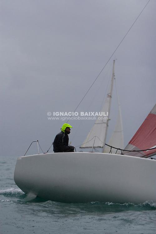 ESP430.CRUCEROS VALENCIA.JOSE L. BRELL. -IV edición de la regata 30 Millas A2, III Memorial Luís Sáiz - 31/1/2009 C.N. Port Saplaya, Alboraya, Valencia, Comunidad Valenciana, España