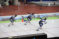 SCHAATSEN: SALT LAKE CITY: Utah Olympic Oval, 16-11-2013, Essent ISU World Cup, ©foto Martin de Jong
