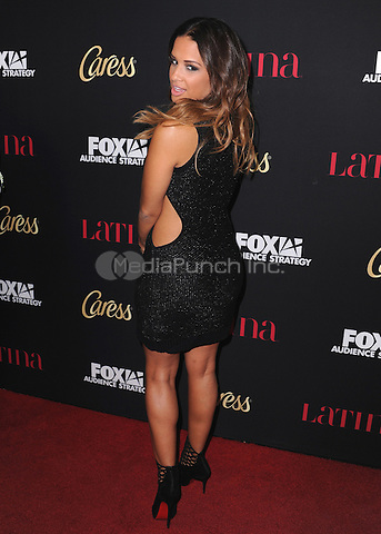"""WEST HOLLYWOOD, CA - OCTOBER 2:  Rocsi Diaz at the Latina Magazine """"Hollywood Hot List"""" Party at Sunset Tower Hotel on October 2, 2014 in West Hollywood, California. Credit: PGSK/MediaPunch"""