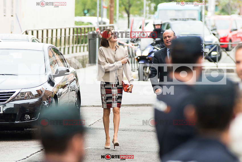 "Queen Letizia of Spain during work meeting at headquarter of the Confederacion Salud Mental España"" in Madrid. October 18, 2016. (ALTERPHOTOS/Borja B.Hojas)"