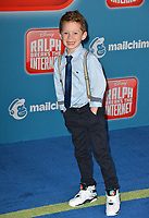 "LOS ANGELES, CA. November 05, 2018: Gavin Thomas at the world premiere of ""Ralph Breaks The Internet"" at the El Capitan Theatre.<br /> Picture: Paul Smith/Featureflash"