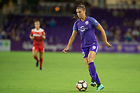 Orlando, FL - Tuesday August 08, 2017: Alex Morgan during a regular season National Women's Soccer League (NWSL) match between the Orlando Pride and the Chicago Red Stars at Orlando City Stadium.
