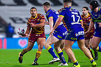 Picture by Alex Whitehead/SWpix.com - 08/02/2018 - Rugby League - Betfred Super League - Huddersfield Giants v Warrington Wolves - John Smith's Stadium, Huddersfield, England - Huddersfield's Kruise Leeming.