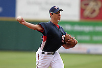 Washington Nationals Ryan Wagner during a Grapefruit League Spring Training game at Spacecoast Stadium on March 19, 2007 in Melbourne, Florida.  (Mike Janes/Four Seam Images)