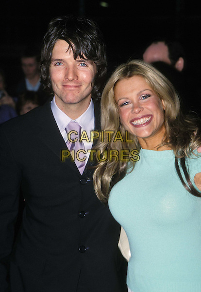 MELINDA MESSENGER & HUSBAND WAYNE..Pride of Britain Awards at The Hilton ..Ref: 11529..smiling..www.capitalpictures.com..sales@capitalpictures.com..©Capital Pictures..half length, half-length