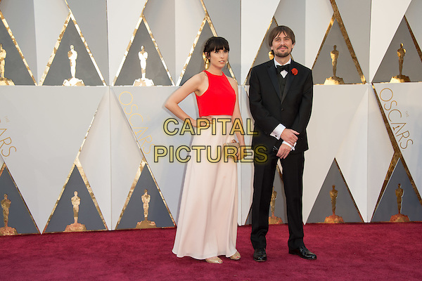 Oscar&reg;-nominee, Don Hertzfeldt, and guest arrive at The 88th Oscars&reg; at the Dolby&reg; Theatre in Hollywood, CA on Sunday, February 28, 2016.<br /> *Editorial Use Only*<br /> CAP/PLF<br /> Supplied by Capital Pictures
