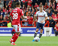Preston North End's Ryan Ledson in action<br /> <br /> Photographer David Shipman/CameraSport<br /> <br /> The EFL Sky Bet Championship - Nottingham Forest v Preston North End - Saturday 31st August 2019 - The City Ground - Nottingham<br /> <br /> World Copyright © 2019 CameraSport. All rights reserved. 43 Linden Ave. Countesthorpe. Leicester. England. LE8 5PG - Tel: +44 (0) 116 277 4147 - admin@camerasport.com - www.camerasport.com