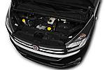 Car Stock 2018 Fiat Talento-Combi Panorama Door Passenger Van Engine  high angle detail view